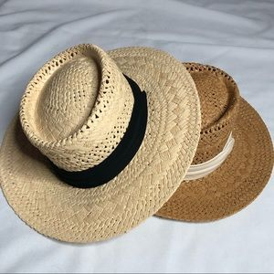 Summer Straw Hats 2 Pack